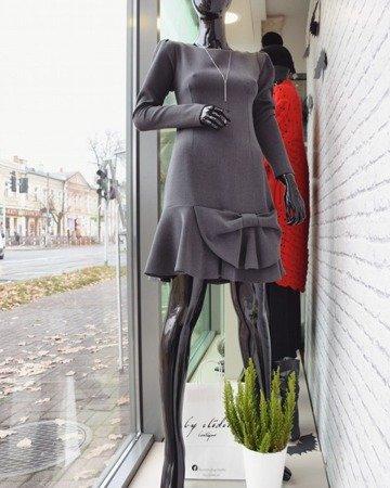 Sukienka BOW Gray